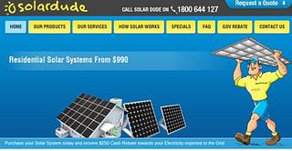 Solar Dude - Canberra and Sydney - Phone 1800 644 127