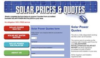 Solar Quotes - Free Service - 3 Solar Quotes in your Area in Australia - PHONE 1300-370-173