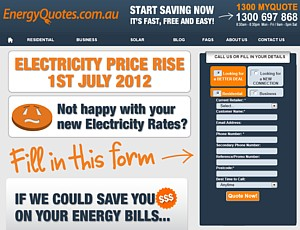 Energy Quotes - Call 1300 697 868 - Mon Fri 8.30am - 8.30pm