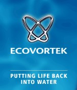 Treat rainwater- reduce bacteria in water - ECOVORTEK