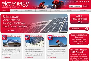 EKO Energy simple solar power solutions. Ph 1300 35 63 63