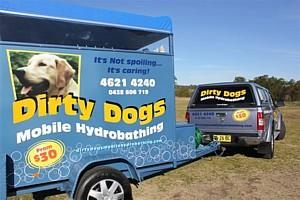 Hydrobathing by Dirty Dogs Mobile Hydrobath Sydney