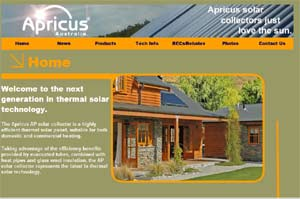 Apricus AP solar collector